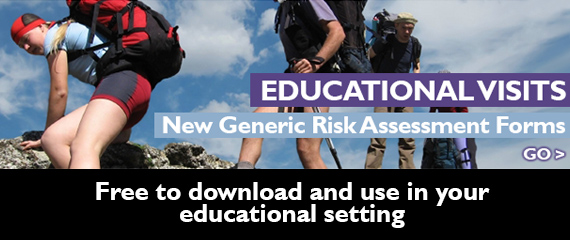 Educational visits risk assessment forms